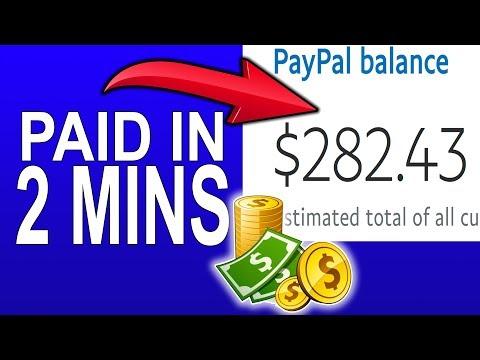 Earn FREE PayPal Money in 2 Min NOW! (🔥BONUS STRATEGY🔥) 💰Make Money Online💰