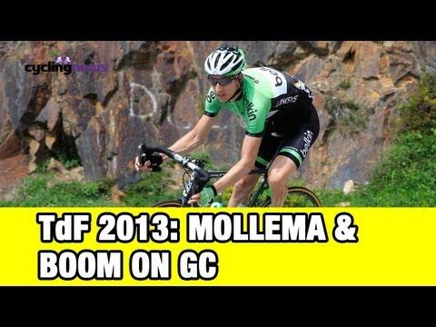 Tour de France 2013:  Bauke Mollema and Lars Boom