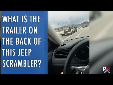 What Is The Trailer On The Back Of This Jeep Scrambler For?