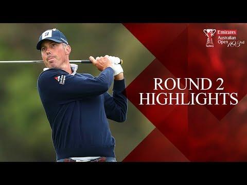 Round 2 Highlights - 2018 Emirates Australian Open ( Aus Open Golf )