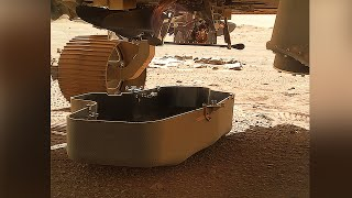 Perseverance dropped Mars Helicopter Ingenuity's debris shield and started deployment sequence