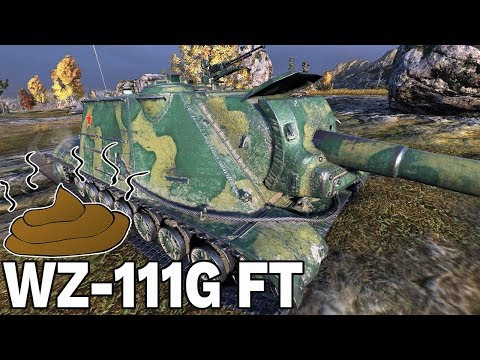 KUPA GÓW*A - WZ-111G FT - World of Tanks