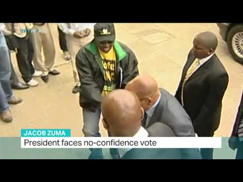 South African president faces no-confidence vote