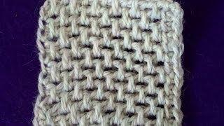 Тунисское вязание. Тунисская сетка