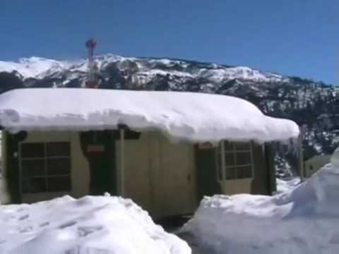 Heavy Snow Fall at Kulu Manali Himachal Pradesh