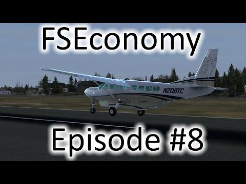 FSX | FSEconomy - Ep. #8 - Charlotte to Spartanburg | Grand Caravan