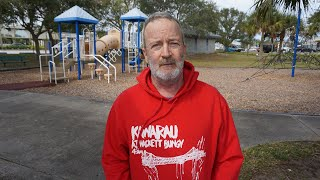 Homeless in Titusville, Florida Ken Freeman