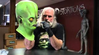 Latex Halloween Mask Care Tips with Ed Edmunds