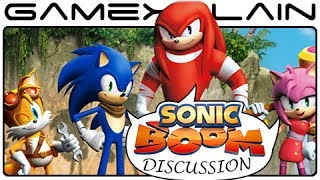 Sonic Boom Discussion - Analysis Follow-Up (Wii U)