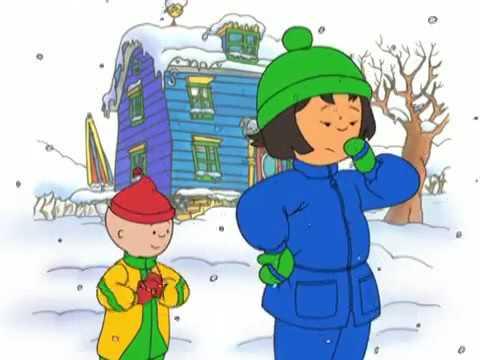 Caillou Caillou's Snowman