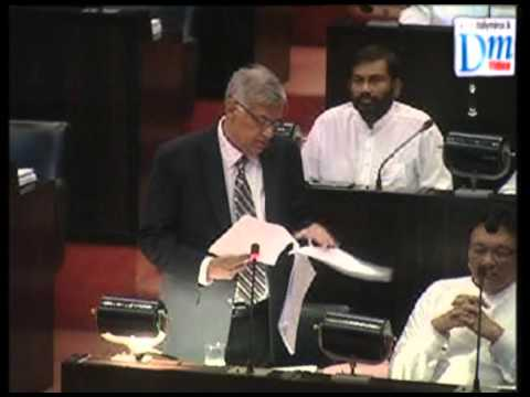 Ranil in Parliament