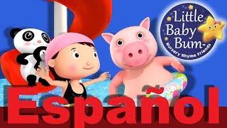 Vamos a nadar | Parte 2 | Canciones infantiles | LittleBabyBum