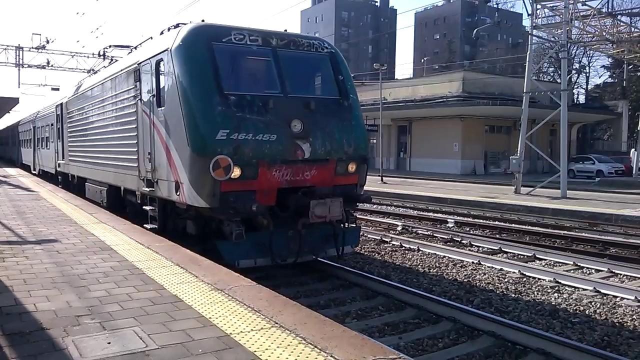 Treni a monza e464 459 7 mdvc trenord 21 02 2017 youtube - Trenord porta garibaldi ...