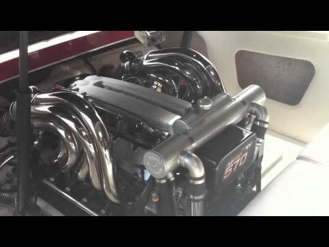 Ilmor v10 marine engines modified by BOOSTPOWER MARINE