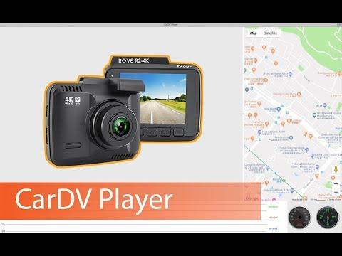 Car DV Player    Rove R2-4K Dash Cam with GPS Tracking