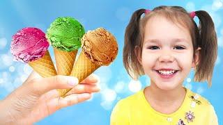 Who Wants Ice Cream? | Ice Cream Song | Nursery Rhymes by Hey Dana