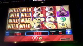 Bald Eagle Slot Machine BIG WIN Line Hit