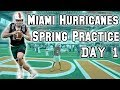 Tate Martell Eligible | Miami Hurricanes LIVE Call in Show | Spring Practice Day 1