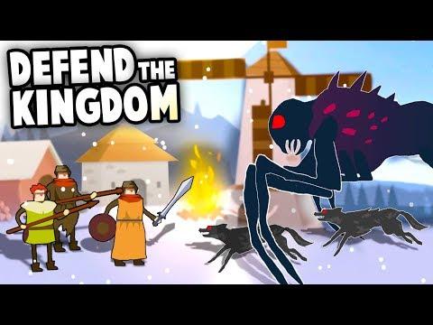 DEFEND the KINGDOM!  Build a Fort!  FIGHT the Monsters! (The Bonfire: Forsaken Lands Gameplay Ep 1)