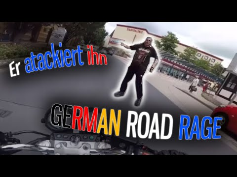 Er greift ihn an?!  | German Road Rage & Angry People