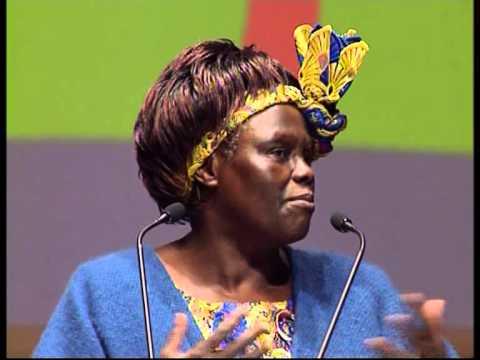 Wangari Maathai's Speech at World Forum Lille [2008]