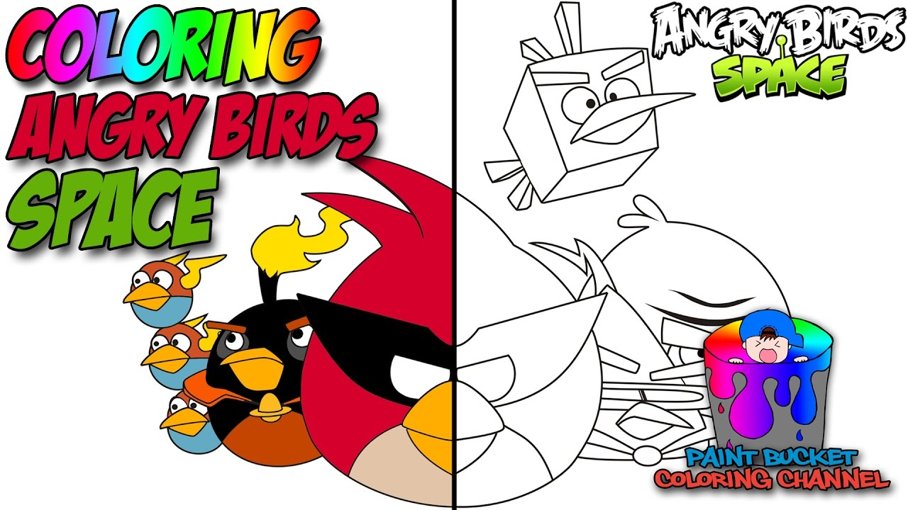 550+ Angry Birds Space Coloring Book Free Images
