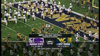 NCAAF 2018 09 23 Kansas State at West Virginia 720p60