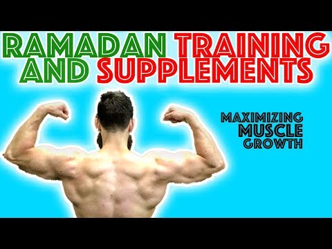 Supplements and Training in Ramadan!