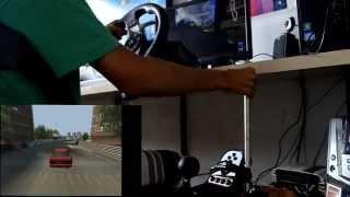 test homemade e brake drift g27 lfs