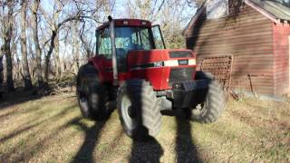 cold start case ih 7140 magnum 1988