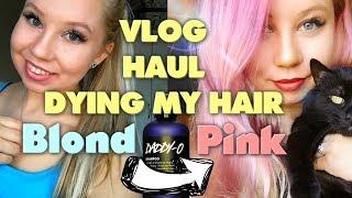 Barvím si vlasy šamponem?! + Vlog z velikonočního LUSH