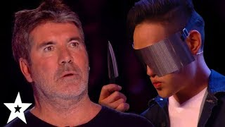 MOST DANGEROUS Magic And Escape Auditions On Britain's Got Talent! | Got Talent Global