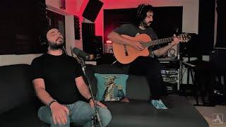 Sam Goharbin - Zane Khiali Acoustic ft. Majid Kazemi