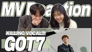 eng) GOT7 'Breath' MV Reaction | 갓세븐 '넌 날 숨쉬게 해' 뮤직비디오 리액션 | Korean Fanboy Moments | J2N VLog