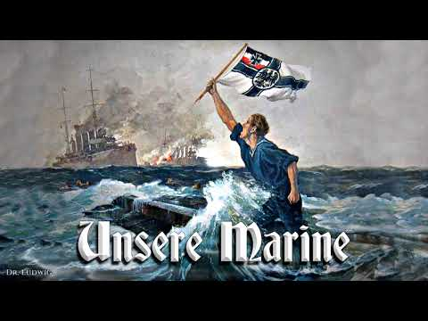 Unsere Marine ⚓ [German marine march]