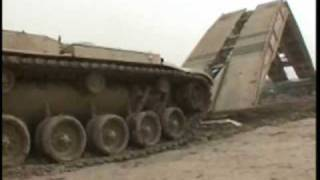 Marines Demonstrate Amazing Tank Launched Bridge.wmv