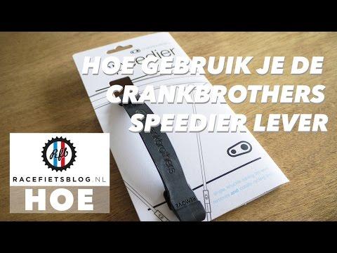 Hoe gebruik je de Crankbrothers Speedier Lever