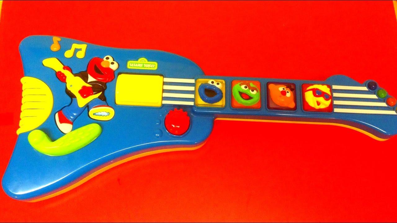 Elmo Guitar Baby Toy Youtube