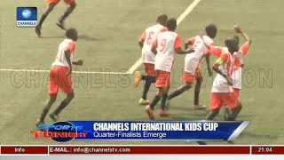Delta,Kwara, Lagos Make Quarter Final Of Channels Int'l Kids Cup 23/05/18 Pt.4 |News@10| thumbnail