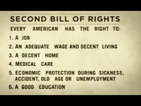 FDR's Second Bill of Rights...