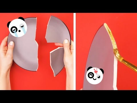 Fix it! Reuse it! Upcycle it! 27 Brilliant DIY Craft Ideas and Simple Life Hacks By Crafty Panda