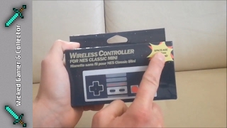 Mini Nes Wireless Controller / Wireless CHINA Joypad Review & Unboxing