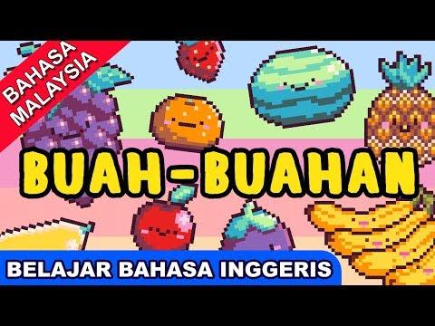 Lagu Belajar Bahasa Inggeris | Buah-Buahan | Lagu Melayu Terbaik Untuk Kanak Kanak | Bibitsku