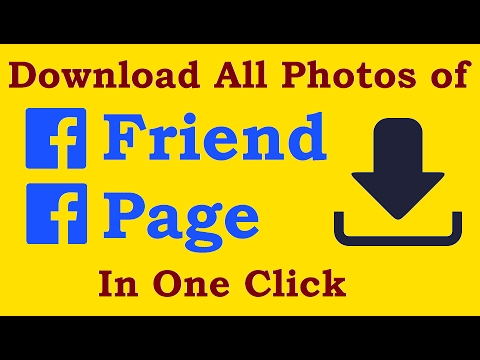 Download full Facebook Album in HD on ONE CLICK (e.g. 1000 pic)