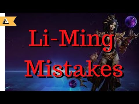 4 common mistakes you might be making on Li-Ming (With 2 builds at the end)
