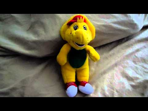 Barney and Friends Talking BJ Plush Toy Video - YouTube