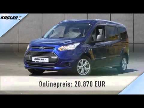 ford tourneo tourneo connect grand ecoboost trend aut 28 youtube. Black Bedroom Furniture Sets. Home Design Ideas