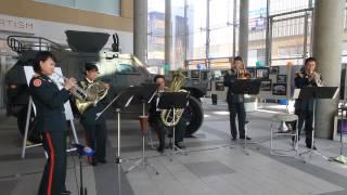ラテンdeジブリ(アンサンブル:陸上自衛隊第2音楽隊の演奏)