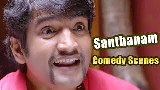 Santhanam Hilarious Comedy Scenes - Telugu Back 2 Back Comedy Scenes