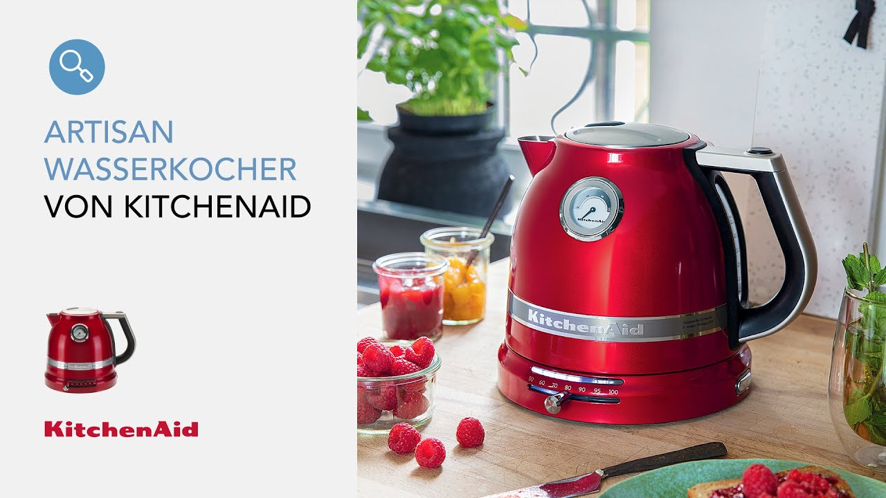 kitchenaid artisan 1 5 l wasserkocher youtube. Black Bedroom Furniture Sets. Home Design Ideas